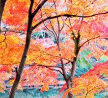 Autumn Colours 2 Sticker