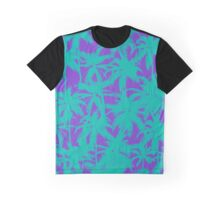 Electric Palm Tree Graphic T-Shirt