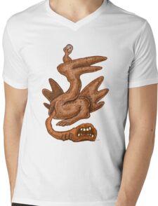 Egnarts Serutaerc 2 Mens V-Neck T-Shirt