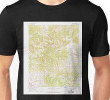 USGS TOPO Map Arkansas AR Bergman 257982 1967 24000 Unisex T-Shirt