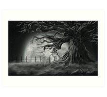 Tree Of lost Souls Art Print