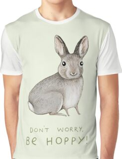 Don't Worry, Be Hoppy! Graphic T-Shirt