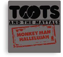 Monkey Man, Hallelujah Canvas Print
