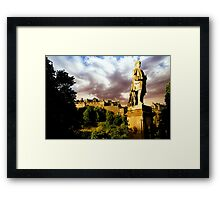 Castle and Ramsay Monument Framed Print