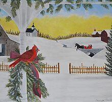 Christmas Sleigh Ride by TawnyaVanterve