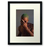 Frank Ocean / Blond Framed Print