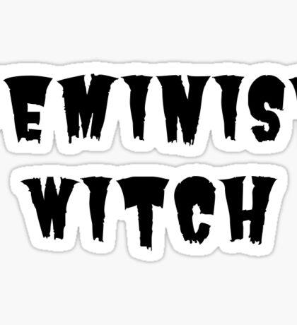 Feminist Witch Sticker