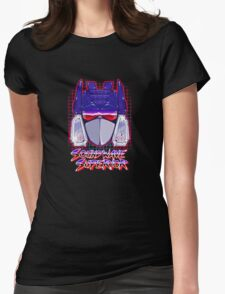Soundwave Superior Womens Fitted T-Shirt
