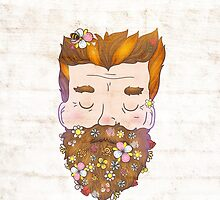 Flower beard by kostolom3000