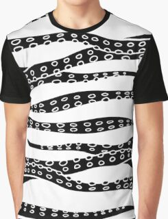 Hand Made Tentacle Graphic T-Shirt