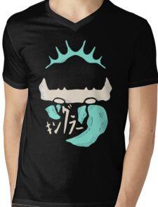 Kingler (blue) Mens V-Neck T-Shirt