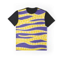 Yellow Tentacles Graphic T-Shirt