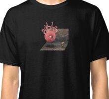 Beholder walking a doggie Classic T-Shirt