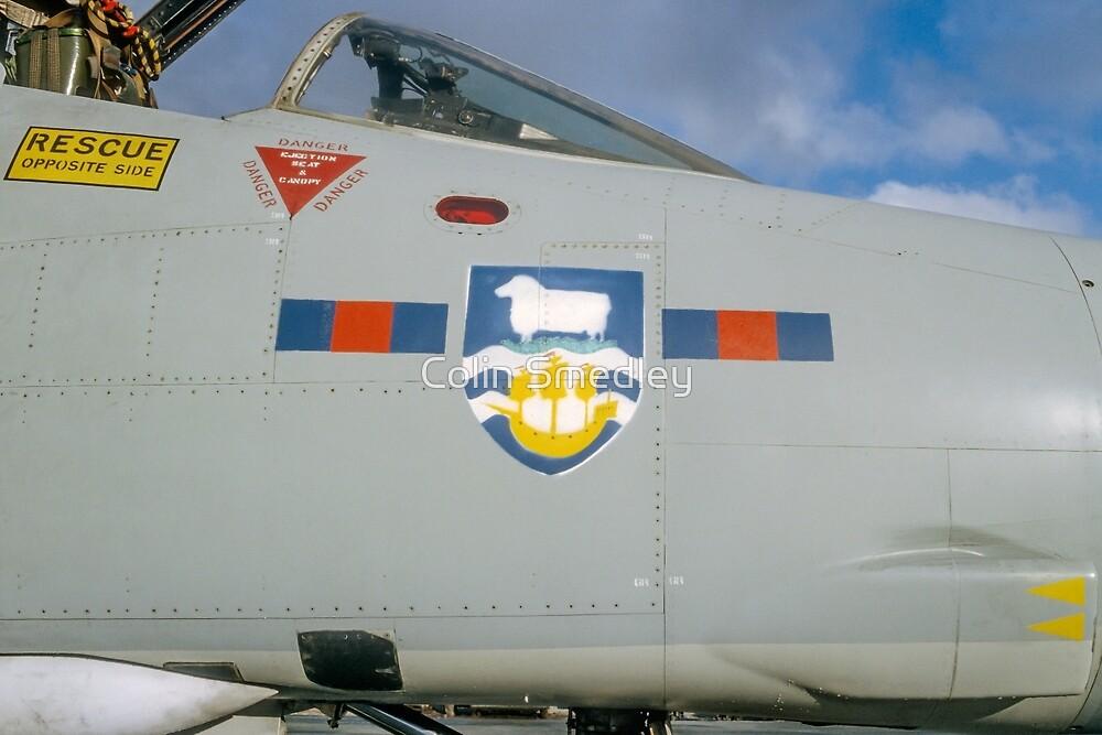 Falklands Crest on 23 Sqn Phantom by Colin Smedley