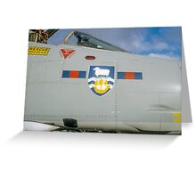Falklands Crest on 23 Sqn Phantom Greeting Card