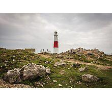 Portland Bill Lighthouse in Dorset, England UK Photographic Print