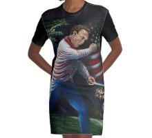 Arnold Palmer American Hero Graphic T-Shirt Dress