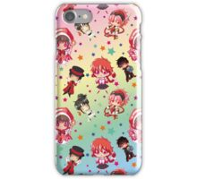 Chibi Characters Pattern iPhone Case/Skin