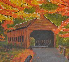 Autumn Bridge by TawnyaVanterve
