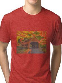 Autumn Bridge Tri-blend T-Shirt