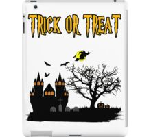 Halloween... Trick or Treat iPad Case/Skin
