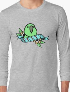 Party Parrot Vintage Tattoo Long Sleeve T-Shirt