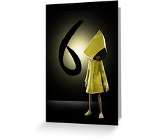 Six- Little Nightmares Greeting Card