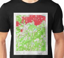 USGS TOPO Map Arkansas AR Little Rock 258938 1961 24000 Unisex T-Shirt