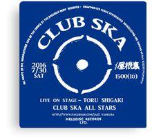 Club Ska All Stars Canvas Print