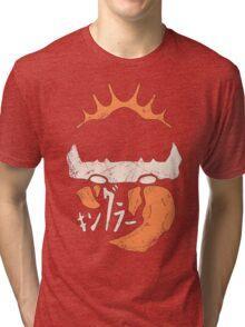 Kingler (old orange) Tri-blend T-Shirt