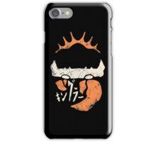 Kingler (old orange) iPhone Case/Skin