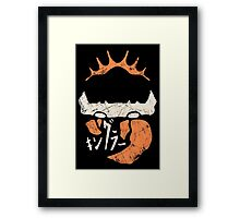 Kingler (old orange) Framed Print