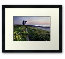 Rossall Point Tower Framed Print
