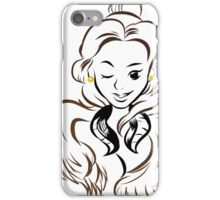 Beauty and the Pelt iPhone Case/Skin
