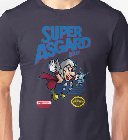 Super Asgard Bro! Unisex T-Shirt