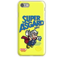 Super Asgard Bro! iPhone Case/Skin