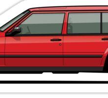Volvo 740 745 Classic Red Sticker