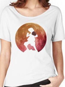Luffy Shadow Moon Women's Relaxed Fit T-Shirt