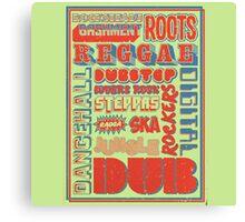 Roots Reggae Canvas Print