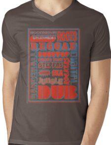 Roots Reggae Mens V-Neck T-Shirt