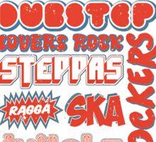 Roots Reggae Sticker
