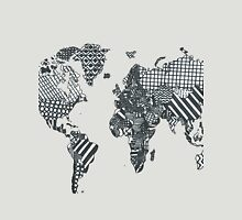 Patterned World Map Unisex T-Shirt