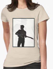 shawn shadow edit Womens Fitted T-Shirt