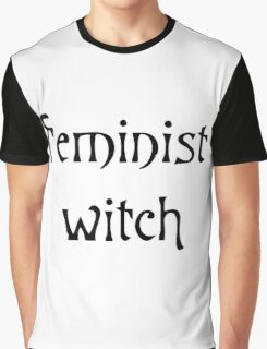 Feminist Witch Graphic T-Shirt