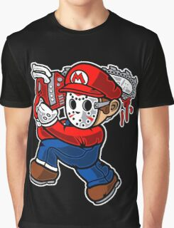 Mario - Massacre Graphic T-Shirt