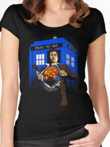 The Last Son of Gallifrey Women's Fitted Scoop T-Shirt