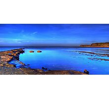 Blue cove at Kimmeridge Bay, Dorset Photographic Print