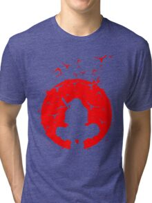 Itachi Red Moon Tri-blend T-Shirt