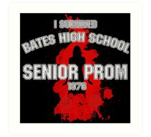 Bates High School Prom : Carrie Art Print