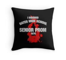 Bates High School Prom : Carrie Throw Pillow